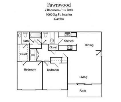 2 Beds - Fawnwood at 321 Walton Lane in Madison TN is a Apartment
