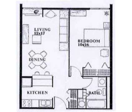 1 Bed - The Americana at 380 S 5th St in Columbus OH is a Apartment