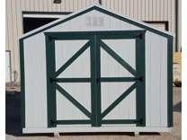 Economy wood Utility storage shed-10x12