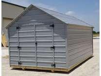 Economy 10x12 Metal Utility, Storage building storage sheds