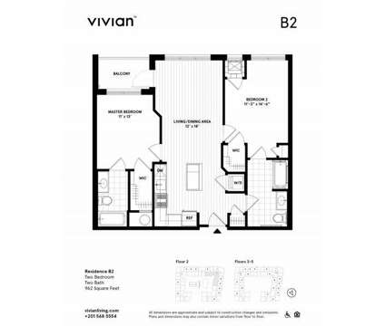2 Beds - Vivian at 75 Sterling Boulevard in Englewood NJ is a Apartment