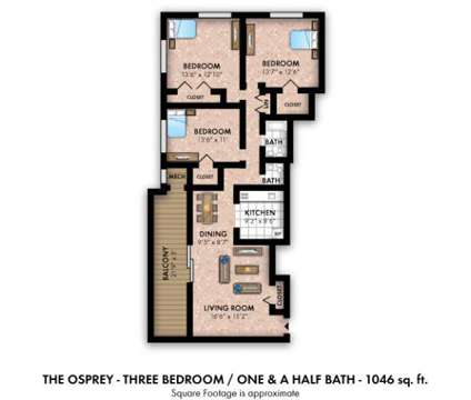 3 Beds - Willow Lake Apartment Homes at 13010 Old Stage Coach Road in Laurel MD is a Apartment
