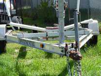 18 Ft. CONTINENTAL FLOAT ON TRAILER - BOAT TRAILER