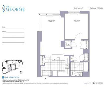 1 Bed - The George - Ask About Our Specials! at 285 George St in New Brunswick NJ is a Apartment