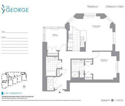 2 Beds - The George - Ask About Our Specials! at 285 George St in New Brunswick NJ is a Apartment