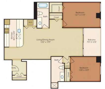 2 Beds - 222 Saratoga Apartments at 222 East Saratoga St in Baltimore MD is a Apartment