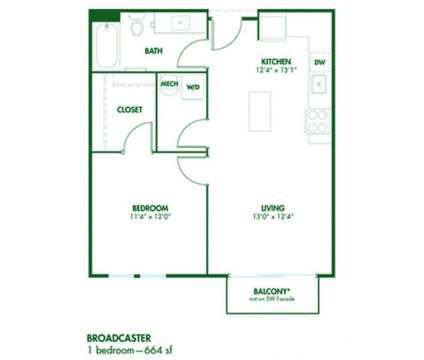 1 Bed - Pinnex at 931 Fletcher Ave in Indianapolis IN is a Apartment
