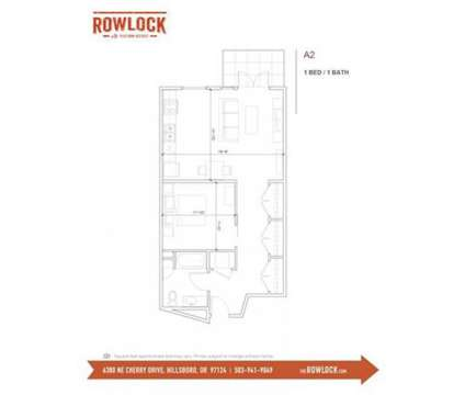 1 Bed - Rowlock at 6380 Ne Cherry Drive in Hillsboro OR is a Apartment