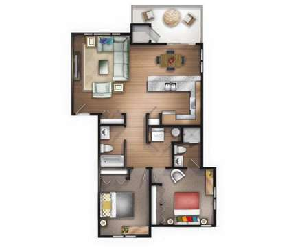 2 Beds - Bellevue Crossing at 488 Ne Bellevue Drive in Bend OR is a Apartment