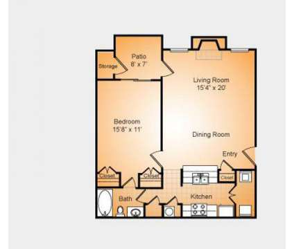 1 Bed - Stonesthrow Apartments at 3501 Farmington Dr in Greensboro NC is a Apartment