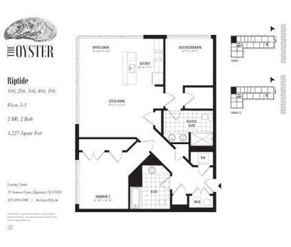 2 Beds - The Oyster at 40 River Road in Edgewater NJ is a Apartment