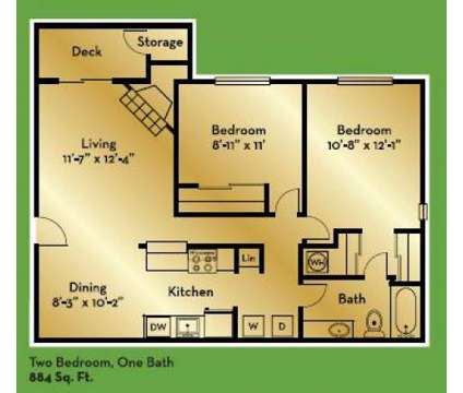 2 Beds - Kelsey Ridge at 1680 134th Ave Southeast in Bellevue WA is a Apartment