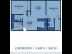Regency Apartments - Two BR Two BA Small
