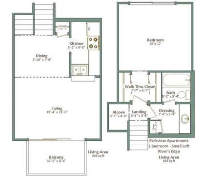 1 Bed - Parkview Apartments at 5174 N Lovers Ln Road in Milwaukee WI is a Apartment