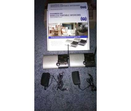 Wireless Intercoms is a Gadgets & Other Electronics for Sale in Sparks NV
