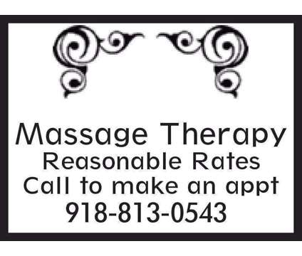 Massages Masajes [phone removed] is a Massage Services service in Tulsa OK