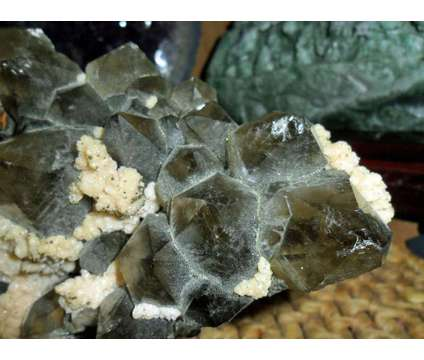 Exceptionally Gorgeous and Beautiful Large Smokey Quartz Gemstone and Dolomite M is a Collectibles for Sale in New York NY