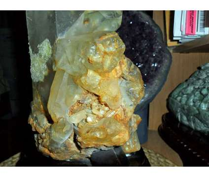 Exceptionally a Gorgeous and Beautiful Crystal Cluster with Massive Point on a W is a White Collectibles for Sale in New York NY