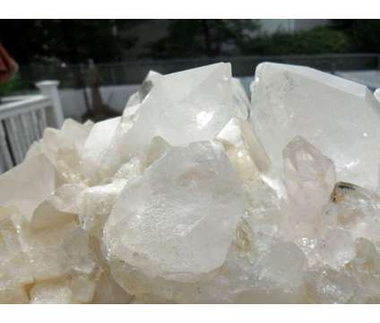 Exceptionally a Beautiful and Gorgeous Massive Quartz Crystal Cluster found in J is a White Collectibles for Sale in New York NY