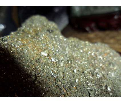 Exceptional and Beautiful Crystal Pyrite on a Beautiful Wooden Base is a Brown Collectibles for Sale in New York NY