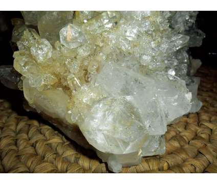 Exceptionally Very Gorgeous Large Quartz Crystals with Galena & Inclusions Clust is a White Collectibles for Sale in New York NY