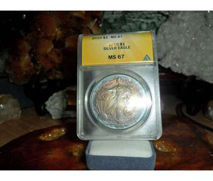 Gorgeous American Silver Eagle Dollar {2010-P ANACS MS 67} is a Coins for Sale in New York NY