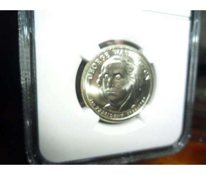 Exceptional 2007-P George Washington Dollar-Mint Error NGC MS 65 Missing Side E is a Coins for Sale in New York NY