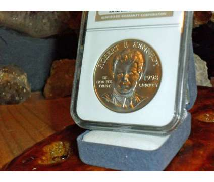 Exceptional Robert F Kennedy Silver Commemorative Silver Dollar 1998-S NGC MS 69 is a Coins for Sale in New York NY