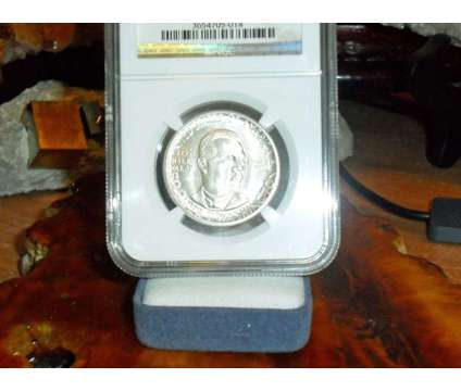 Exceptional Booker T. Washington Commemorative Silver Half Dollar 1951-P is a Coins for Sale in New York NY