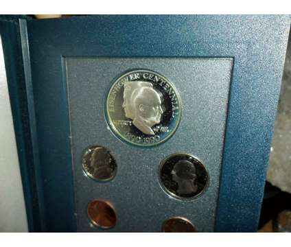 U.S. Mint-Prestige Silver Proof Set 1990-S Eisenhower Centennial Silver Dollar 1 is a Green Coins for Sale in New York NY
