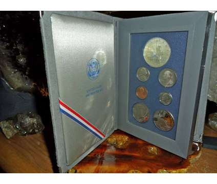 Exceptional United State Mint-Prestige Silver Proof Set-1986-S Liberty Silver Do is a Green Coins for Sale in New York NY