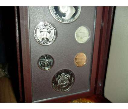 Exceptional United State Mint-Prestige Silver Proof Set-1984-S Olympic Silver Do is a Brown Coins for Sale in New York NY