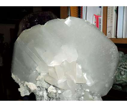 Exceptionally Gorgeous and Beautiful Large Crystal Calcite Cluster is a Grey, White Collectibles for Sale in New York NY