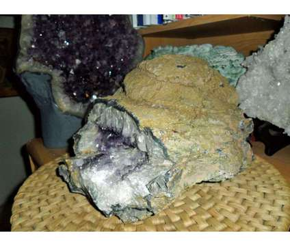 Exceptionally, Gorgeous and Beautiful Amethyst Geode Cathedral is a Purple Collectibles for Sale in New York NY