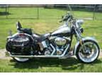 Garage K2003 Harley Davidson Heritage Springer Flstsi Garage Kept
