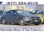 2017 Mercedes-Benz C-Class AMG C 63 AMG C 63 2dr Convertible