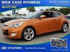 2016 Hyundai Veloster Base 3dr Coupe 6M w/Black Seats