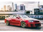 1999 Nissan GT-R Skyline R34 V-Spec 1