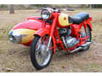 1960 Pannonia With Sidecar