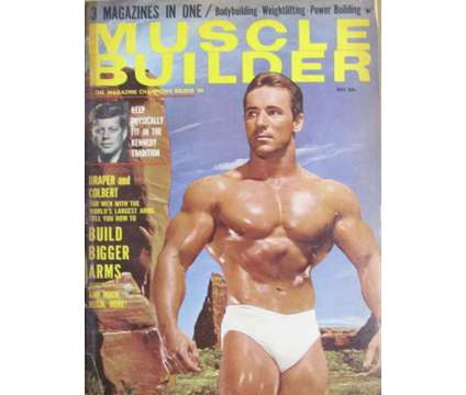 Muscle Builder Magazine is a Magazines for Sale in Waterbury CT