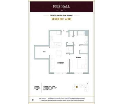 1 Bed - Rose Hall at 10 Kings Rd in Madison NJ is a Apartment