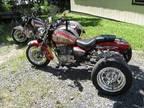 Two 2000 Suzuki Gz-250 Trikes-