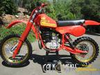 Original Nos 81 Maico 490 Mega 2 Ahrma Vintage Motocross Dirt Bike Motorcycle