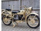 1942 Moto Guzzi Alce 500 Libyan Conflict.