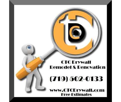 CTC Drywall ~ FREE ESTIMATES is a Construction & Remodeling service in Colorado Springs CO