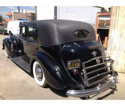 1938 Packard Chauffeured Super Eight Formal is a 1938 Packard Super Eight Classic Car in Fountain Valley CA