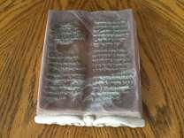 Genuine Incolay Stone Book Decor