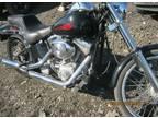 2004 Harley Davidson softail Black LOW MILES 7400 miles