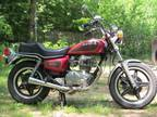 1981 Honda CM400t , 9,2xx miles , original cond. Price of a moped !