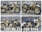 1942 Moto Guzzi Alce 500 Libyan Conflict